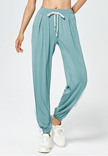 HAPPY FRIDAYS Side Stripe Yoga Sweatpants DK-YDK05 D9538AADCBD55DGS_1