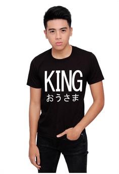 KING Black Men's Shirt