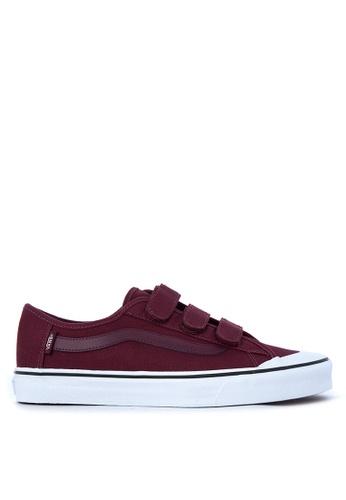 Vans red Black Ball V Sneakers VA142SH45QBQPH_1