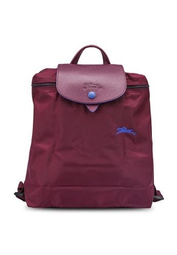 LONGCHAMP purple Le Pliage Club Backpack (zt) 3ACA9AC9834659GS_1
