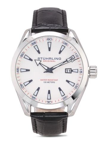 Stuhrling Original black Forte 3953L Watch 9F263AC9C67524GS_1