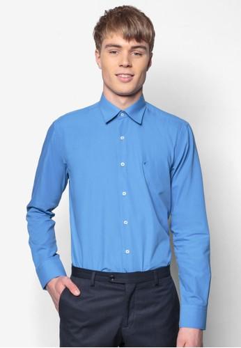 合身長袖襯衫, 服esprit台灣門市飾, 素色襯衫