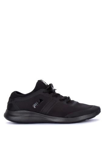 Fila black Ecstatic Lite Running Shoes 84C0ESHB0E3D62GS_1