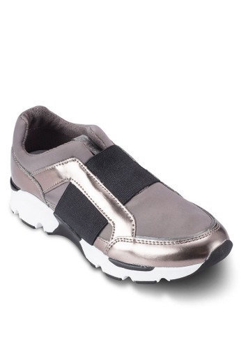 Padden 撞色金屬感拼接懶人運動鞋, 女鞋, esprit台灣官網鞋