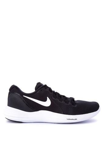 Nike black Men's Nike Lunar Apparent Running Shoes NI126SH0KPV8PH_1