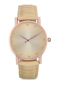 Textured Strap Watch
