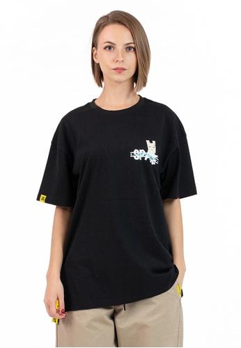 Reoparudo black Ieeo In Space @ RPD Space Edition Reflective Print Tee (Black) B671FAA7942EEDGS_1