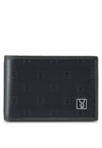Playboy grey Playboy Bi-Fold Wallet C00ABACE8F87E3GS_1