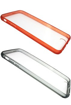 Ultra Thin Slim TPU Transparent Back Case for iPhone 6 Plus 5.5 Set of 2