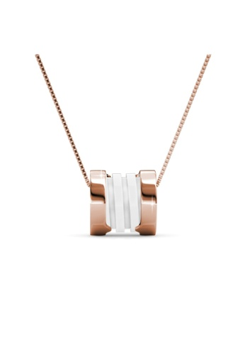 Her Jewellery gold Her Jewellery Destiny Ceramic Pendant (White) with Necklace Chain with 18K Gold Plated 19D2CAC8BE67F6GS_1