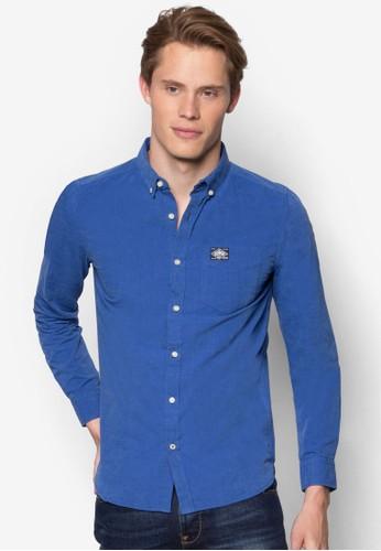 素esprit tst色棉質長袖襯衫, 服飾, 服飾