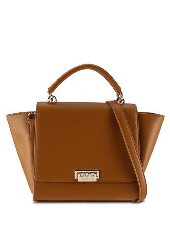 Milliot & Co. brown Rachel Top Handles Bag 784D0ACF52EDA9GS_1