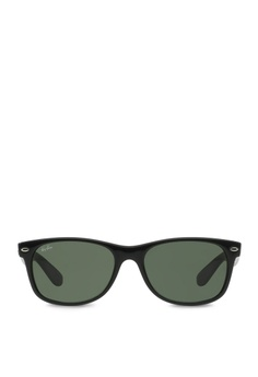 ee2798eecca Ray-Ban black New Wayfarer RB2132 Sunglasses RA370GL04RXVSG 1
