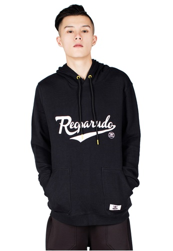 Reoparudo black RPD Reflective Signature Printed Hoodie (Black) RE413AA0GSZ2SG_1