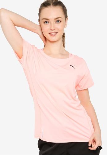 PUMA pink Favourite Women's Training Tee FA857AA8DC75CEGS_1