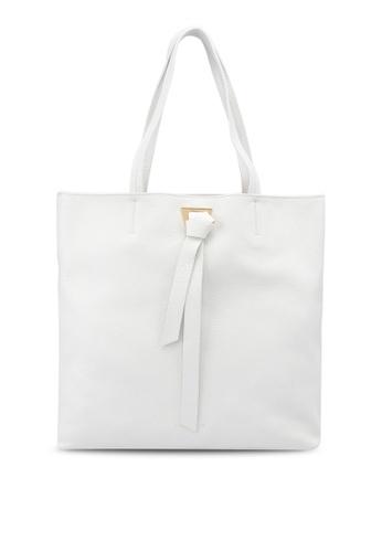 Coccinelle white Joy Tote Bag 22B51AC91964A5GS_1