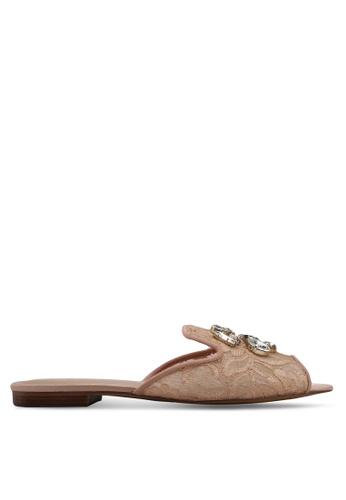 ALDO pink Ramsaya Flat Sandals 670C5SHBE9C535GS_1