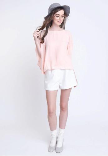 L'zzie pink EVANNA TOP - PINK FE47BAAB6ACA3AGS_1
