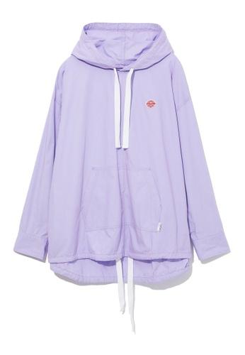 :CHOCOOLATE purple Logo hoodie 5DB13AAC2D2C65GS_1