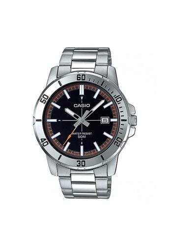 Casio silver CASIO GENERAL MTP-VD01D-1E2VUDF MEN'S WATCH 549A0ACE4052AAGS_1