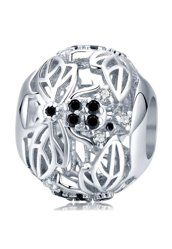 925 Signature 925 SIGNATURE Solid 925 Sterling Silver Honey Bee Animal Pandora Inspired Charm 78610AC044924EGS_1