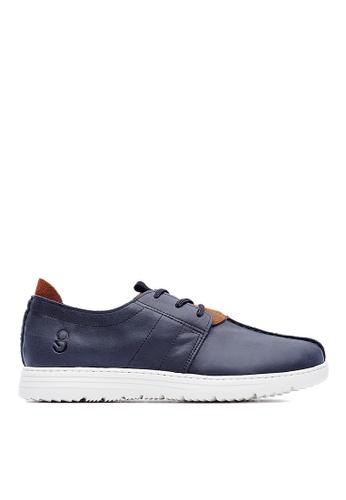 Life8 black Lightweight Wax Cow Leather Casual Shoes-09423-Black LI286SH72KBVMY_1