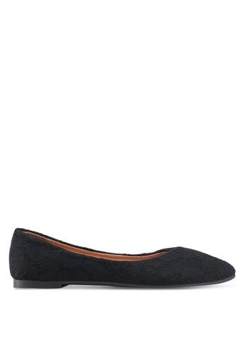 NOVENI 黑色 Lace Flats 2E2EDSHC671B2DGS_1