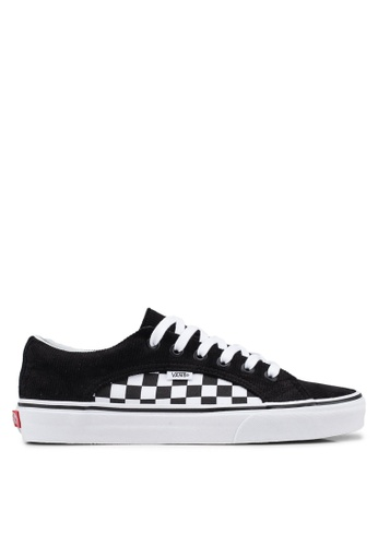 VANS black and white Lampin Checker and Cord Sneakers F6ADBSH90B52D0GS_1