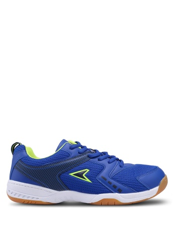 Power blue Athletic Badminton Shoes F066ESH3316D3FGS_1