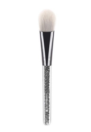 Pretty2u grey Grey Rhinestones Blush Brush - 711 PR716BE54DTDMY_1