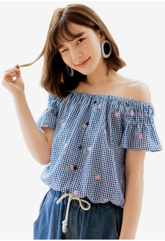 a8373faf1eb Off Shoulder Tops | Shop Online On ZALORA Philippines