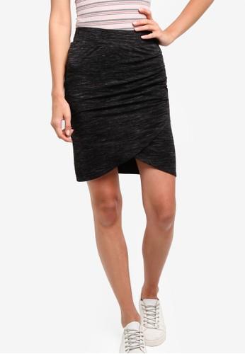 zalora 內衣KN Melinda 裹式短裙, 服飾, 服飾