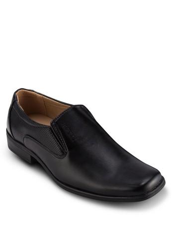 方頭商務懶人皮鞋esprit手錶專櫃, 鞋, 鞋