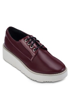 Zalora Platform Lace-up Derbies