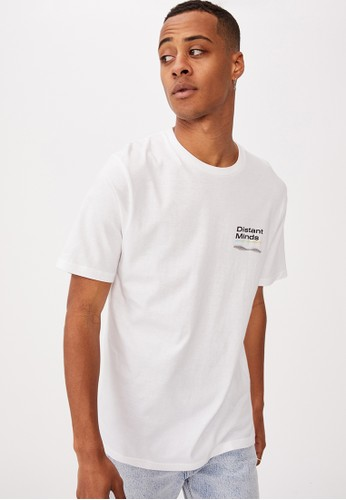 Cotton On white Tbar Street T-Shirt 8DC40AA34712F5GS_1