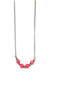 Classic Red Coral Necklace