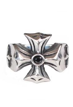 Image of VERNYX Men's Independent Titanium Steel Ring CCO3618 - Cincin Pria.