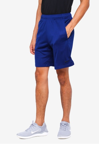 Nike blue Men's Nike Dry Training Shorts 14294AA9FCE258GS_1