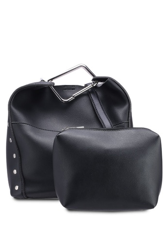 Berrybenka black Sally Octa Shoulder Bag ACAD2AC13618BBGS_1