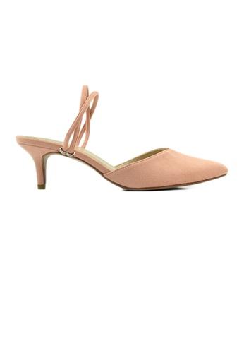 SHINE pink SHINE Slip on Point Toe Heel 23C9ESHD3A7D80GS_1