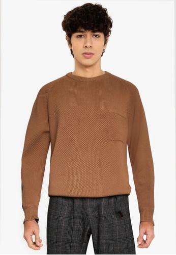 niko and ... brown Knit Pullover D4E96AA8BFA9B5GS_1