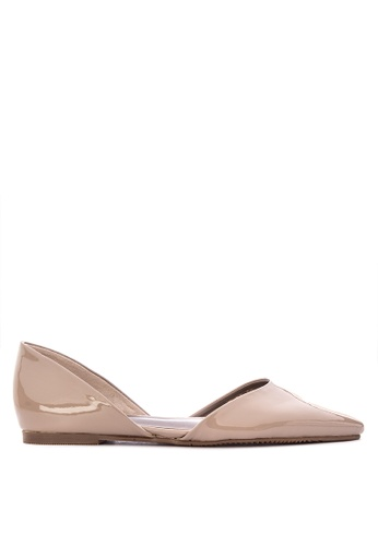 715cd0731ea Shop Janylin Patent D orsay Flat Sandals Flats Online on ZALORA Philippines