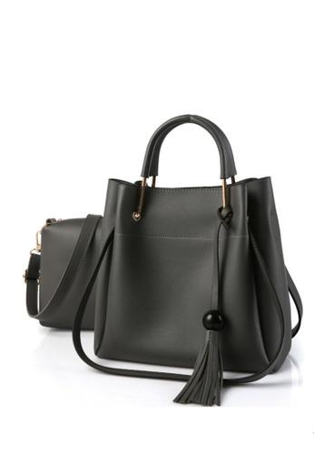 TCWK grey TCWK Set of 2 pcs Ladies Handbag TC258AC0S9WWMY_1