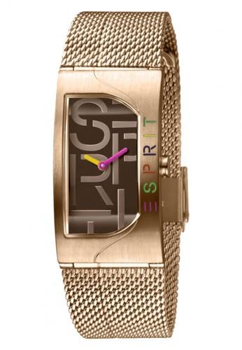 ESPRIT gold Esprit Women Houston Bold Brown Rosegold ES1L046M0065 9A05BACFC93872GS_1