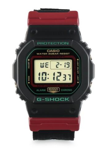 G-shock black and red G-shock Jam Tangan DW-5600THC-1DR Hitam Merah 5CA60ACE3E7C8AGS_1