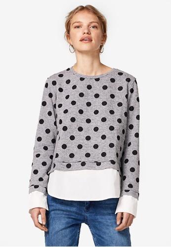 ESPRIT black Long Sleeve Sweatshirt 41857AAF853FACGS_1