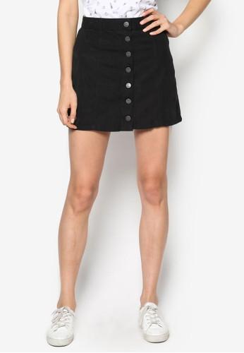 單排扣麂皮短esprit 童裝裙, 服飾, 裙子