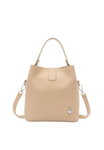 Swiss Polo orange Top Handle Sling Bag 74FC1AC24941A0GS_1