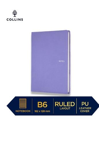 Collins purple Collins Metropolitan Melbourne  ─  Notebook B6 Ruled Lilac 32459HL97B7EE6GS_1