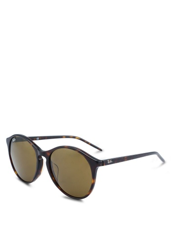 6fdd0ccc9c9 Ray-Ban black Ray-Ban RB4371F Sunglasses 69C14GLA34732AGS 1